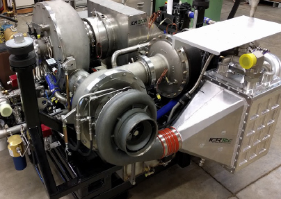 ICRTec 350kW Gas Turbine Genset